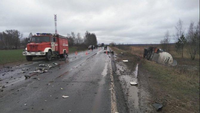 Водитель легковушки погиб в ДТП в Касимовском районе