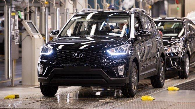 Российский завод Hyundai продлил сокращённый режим работы