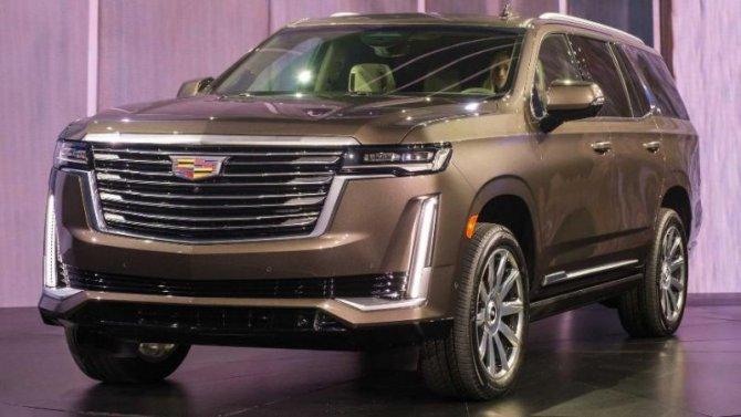 Известны цены нановый Cadillac Escalade
