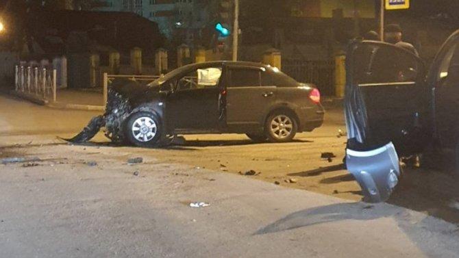 В ДТП в Брянске пострадала девушка