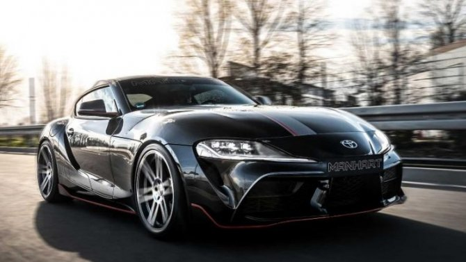 Toyota Supra получила «крутой» тюнинг отManhart
