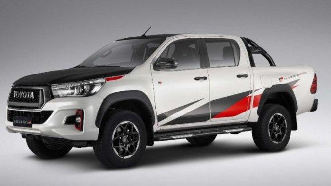Пикап ToyotaGR Hilux получит новый дизель