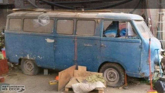 Найденный вЧили советский микроавтобус купил коллекционер изРоссии