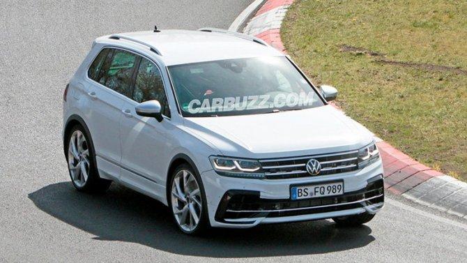Volkswagen Tiguan получит «заряженную» модификацию