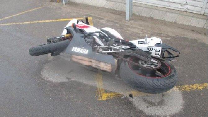 17-летний мотоциклист пострадал в ДТП в Ефремове