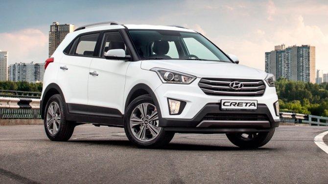 4 Hyundai Creta