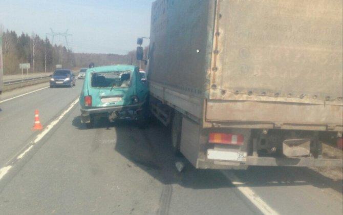 В ДТП с грузовиком в Череповецком районе погиб человек (1)