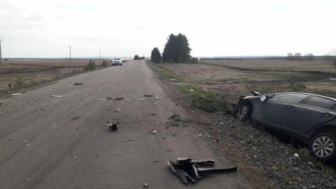 В Башкирии иномарка врезалась в дерево – водитель погиб (3)