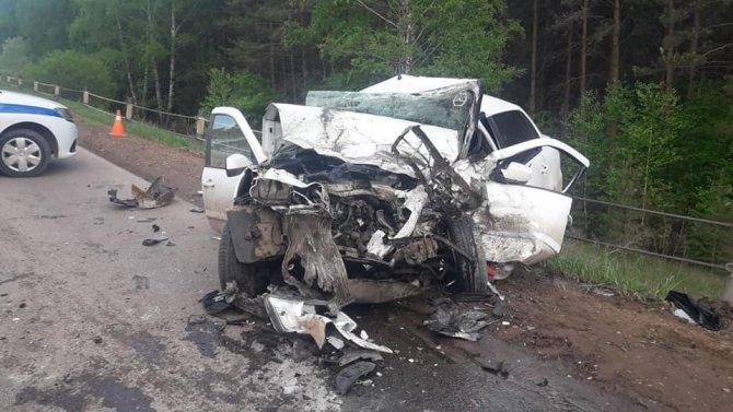 В Башкирии в ДТП погиб водитель (1)