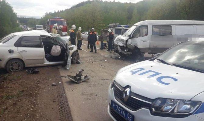 В Башкирии в ДТП погиб водитель (2)