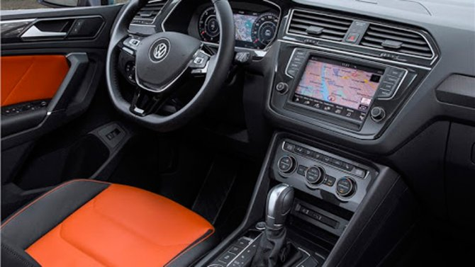 Volkswagen Tiguan салон