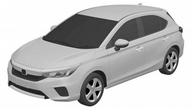 Honda запатентовала сверхбюджетный хэтчбек