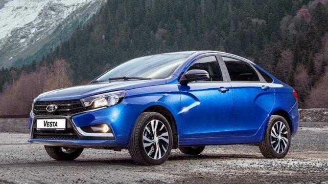«АвтоВАЗ» всё-таки проведёт рестайлинг Lada Vesta