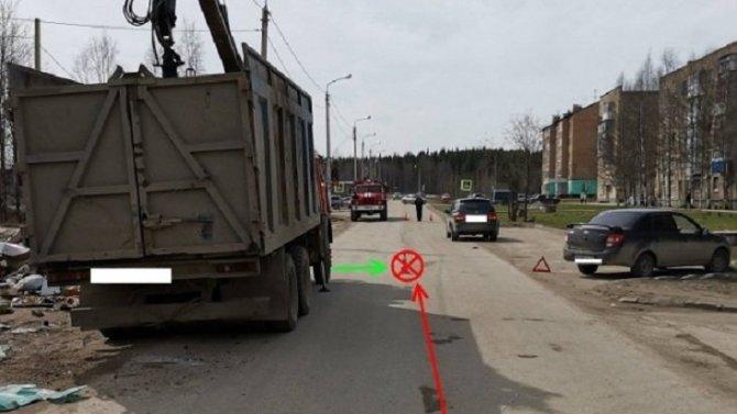 В Сосногорске машина сбила ребенка