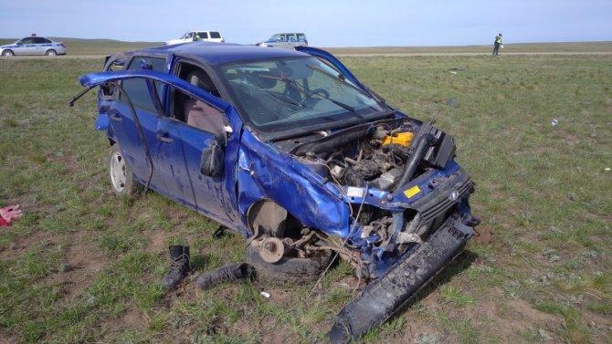 Подросток погиб в ДТП в Оренбургской области