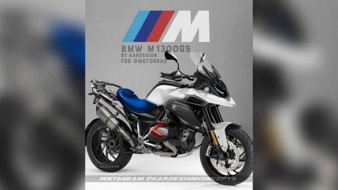 Опубликовано рендерное изображение «заряженного» мотоцикла BMW