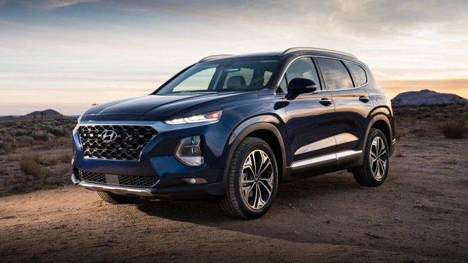 Hyundai Santa Feдля Китая получил новый салон