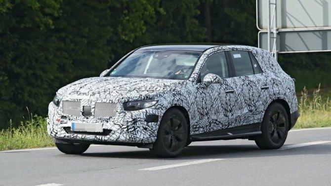 Начались испытания нового Mercedes-Benz GLC