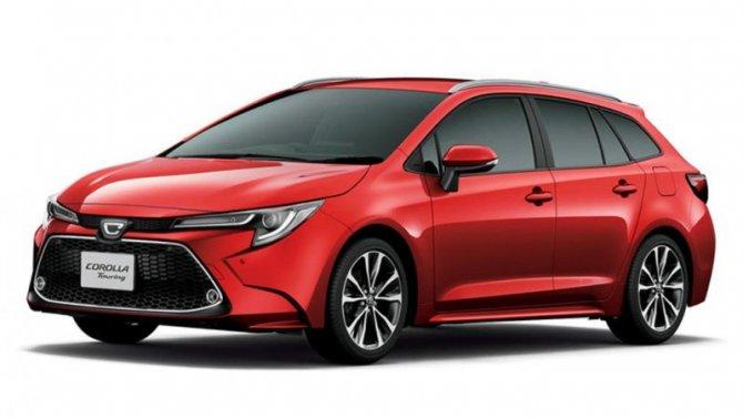 Универсал Toyota Corolla получит новый мотор