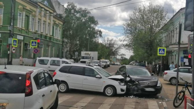 6-летний ребенок пострадал в ДТП вМичуринске