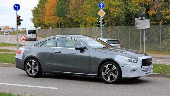 Показан салон нового Mercedes-Benz E-Кlassе