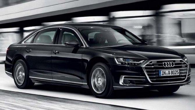 ВРоссии начаты продажи бронированных Audi