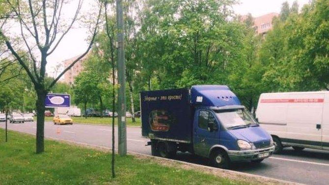 В Петербурге «Газель» сбила пешехода