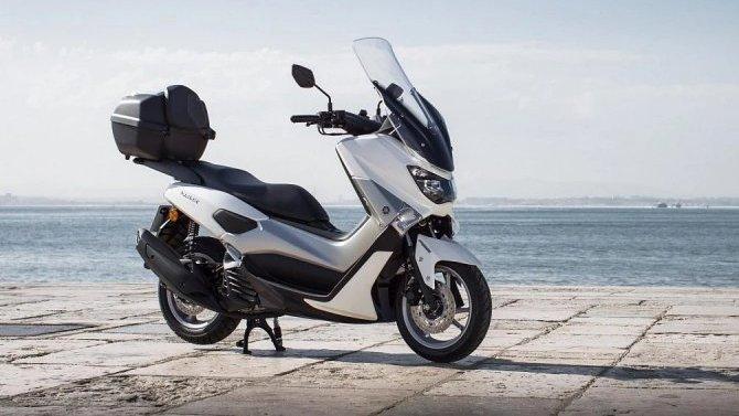 Yamaha испытывает новый скутер