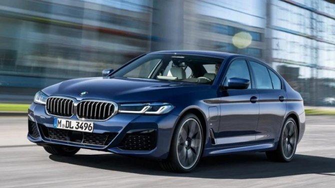 Обнародованы рублёвые цены на новый BMW 5-Series