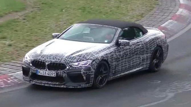На «Нюрбургринге» появился загадочный BMW