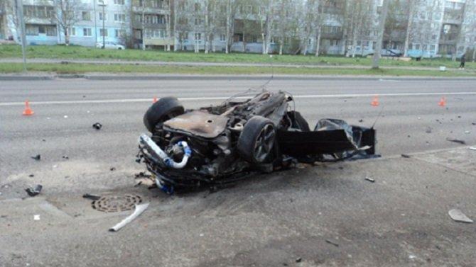 В ночном ДТП в Архангельске погиб человек