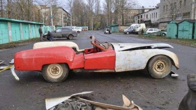 ВЛатвии восстановлен уникальный советский автомобиль