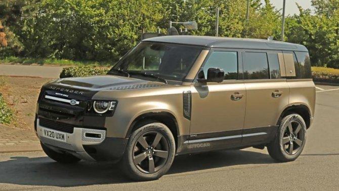 Land Rover Defender получил новый двигатель