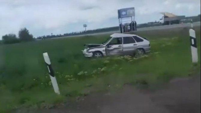 Женщина и ребенок пострадали в ДТП под Таганрогом