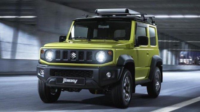 Падение рубля: подорожали все комплектации Suzuki Jimny