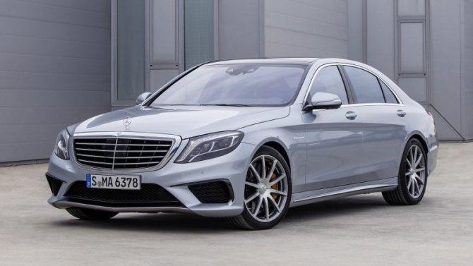 Рассекречен дизайн нового Mercedes-Benz S-Кlassе