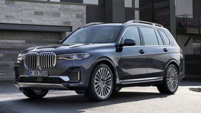 ВРоссии сертифицирована новая модификация BMW X7