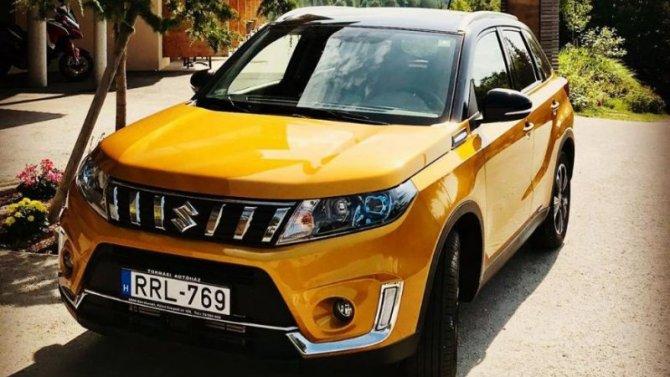 Новая Suzuki Vitara будет представлена осенью