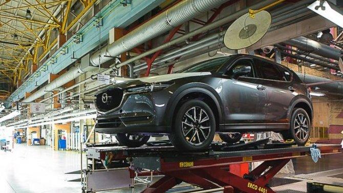 Компания Mazda запросила кредит на3 млрд долларов