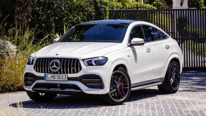 Начались продажи нового Mercedes-AMG GLE 53 Coupe