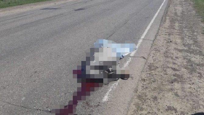 В Башкирии иномарка насмерть сбила мужчину