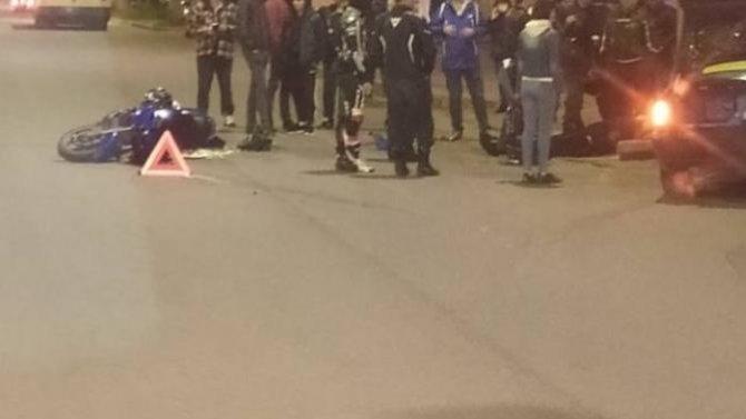 В Смоленске в ДТП пострадал мотоциклист