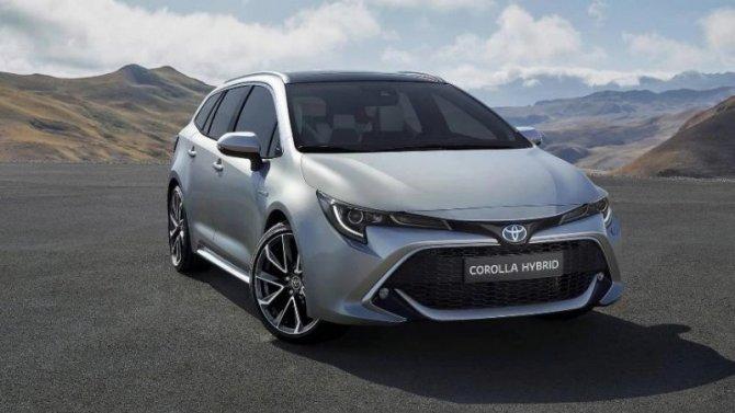 Универсал Toyota Corolla появится в США