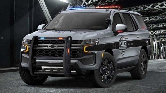 Chevrolet Tahoe получил полицейскую модификацию