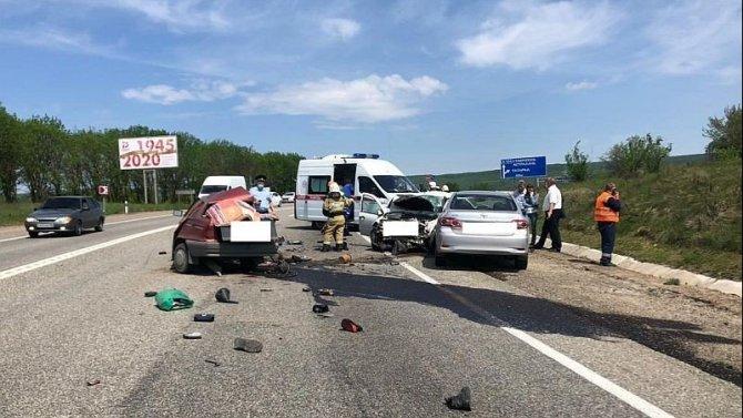 Под Ставрополем в ДТП погиб водитель