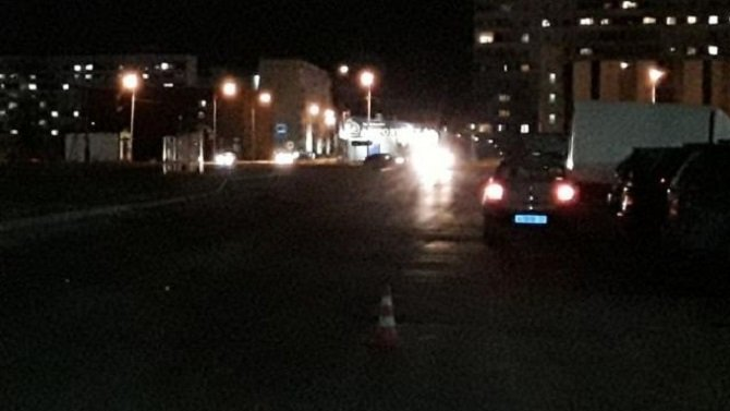 В Новосибирске на переходе сбили 5-летнюю девочку