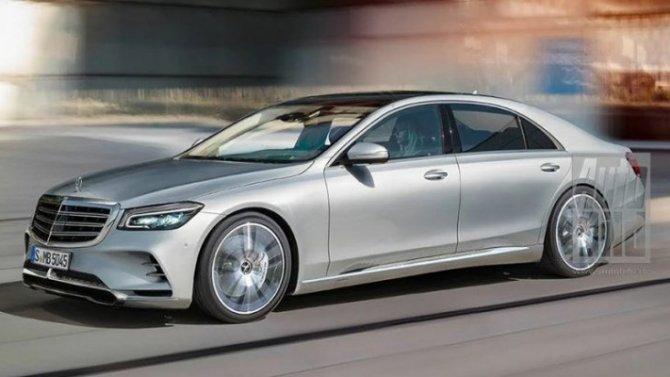 Новый Mercedes-Benz S-Klasse: подробностей становится больше
