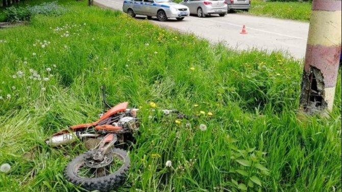 Подросток на мотоцикле погиб в ДТП под Нижним Новгородом