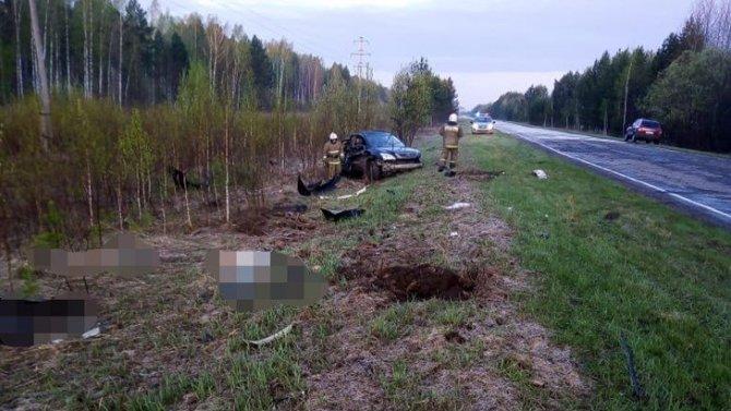 В ДТП вТомской области погибли два человека