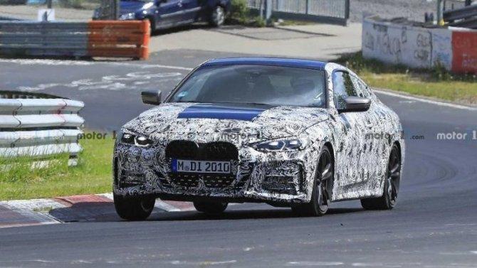 Обновлённое купе BMW 4-Series представят в начале лета